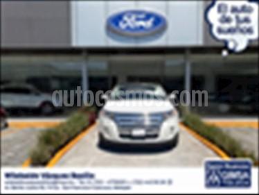 Ford Edge LIMITED  3.5L V6 PIEL SUNROOF usado (2013) color Blanco precio $225,000