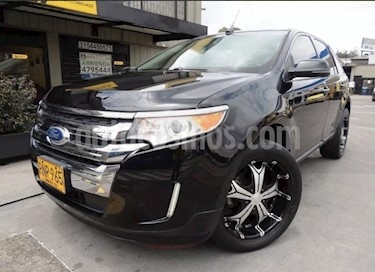 Ford Edge Limited 3.5L Aut usado (2012) color Negro precio $61.500.000