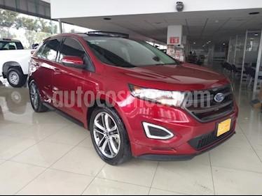 Ford Edge 5P SPORT V6/2.7/T AUT usado (2017) color Rojo precio $470,000