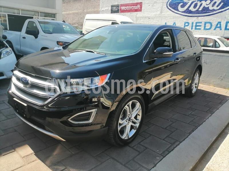 Ford Edge Titanium usado (2016) color Negro precio $344,000