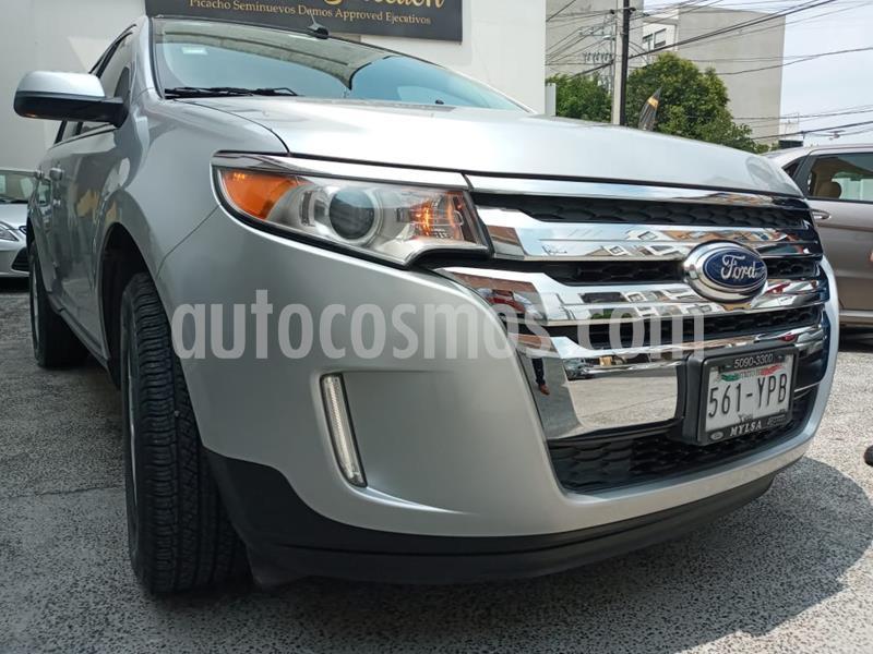 Ford Edge Limited usado (2013) color Plata Estelar precio $225,000