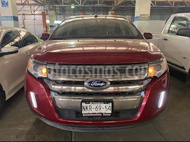 Ford Edge SEL usado (2013) color Rojo Rubi precio $160,000