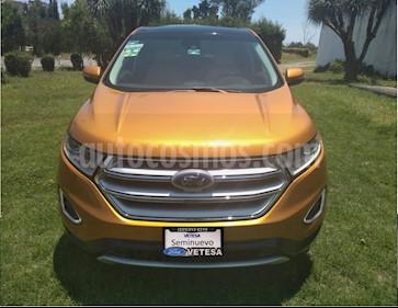 Ford Edge Titanium usado (2015) color Bronce precio $296,000