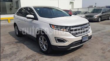 Ford Edge Titanium usado (2016) color Blanco precio $372,000