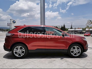 Ford Edge Titanium usado (2018) color Rojo precio $649,900
