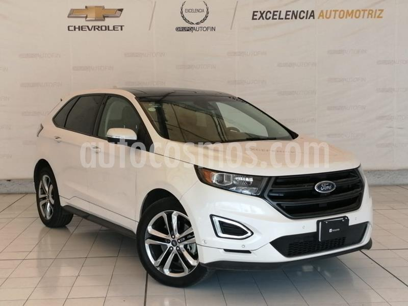 Ford Edge Sport usado (2018) color Blanco Platinado precio $525,000