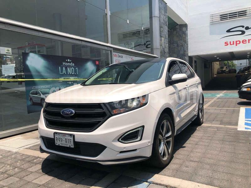 Ford Edge Sport usado (2018) color Blanco precio $509,100