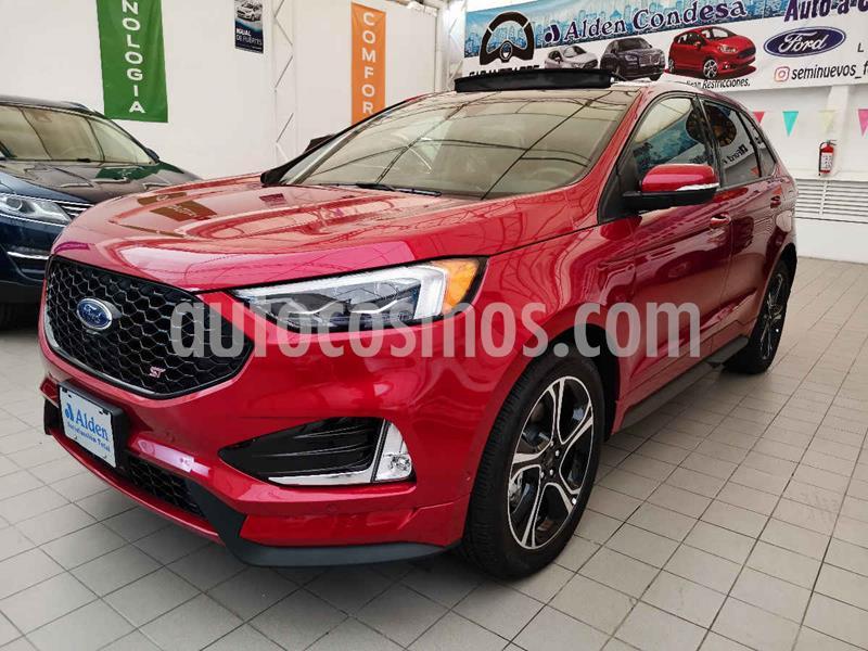 Ford Edge ST usado (2019) color Rojo precio $740,000