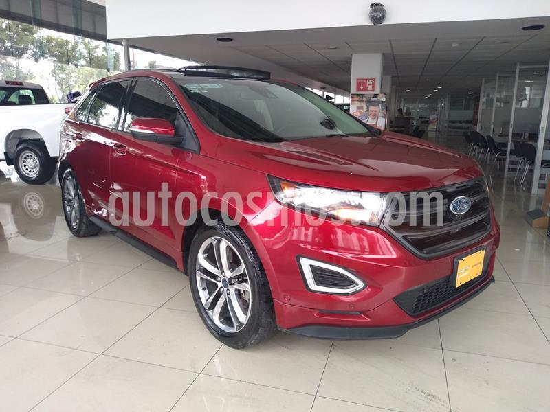 Ford Edge Sport usado (2017) color Rojo precio $440,000