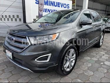 Ford Edge Titanium usado (2016) color Gris precio $364,500