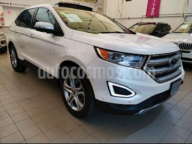 Ford Edge TITANIUM V6/3.5 AUT usado (2015) color Blanco precio $298,000