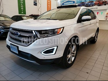 Ford Edge Titanium usado (2015) color Blanco precio $298,000