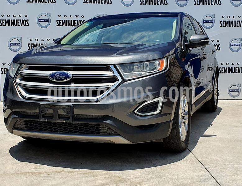 Ford Edge Titanium usado (2017) color Gris Oscuro precio $420,000