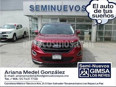 Ford Edge Sport usado (2018) color Rojo precio $540,000