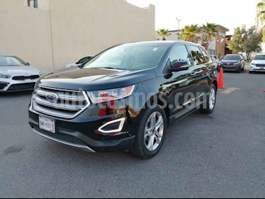 Ford Edge 5p Titanium V6/3.5 Aut usado (2017) color Negro precio $580,000
