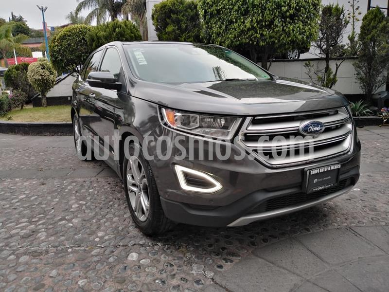 Ford Edge Titanium usado (2015) color Gris precio $295,000