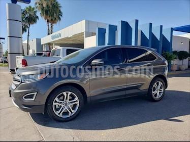 Ford Edge Titanium usado (2016) color Gris Oscuro precio $360,000