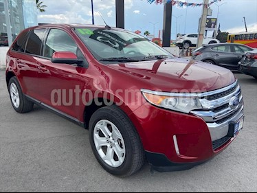 Ford Edge SEL usado (2013) color Rojo precio $189,000