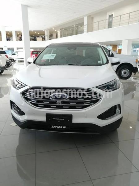 Ford Edge Titanium nuevo color Blanco Platinado precio $861,200
