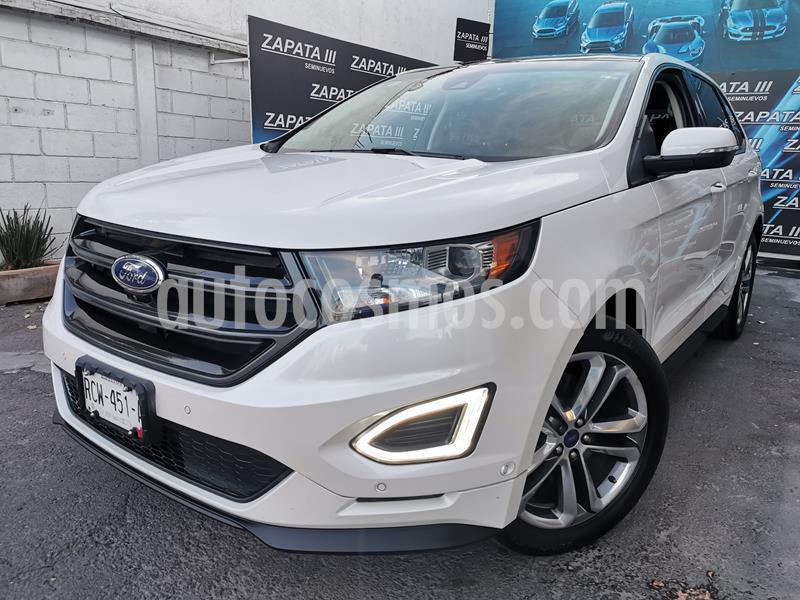 Foto Ford Edge Sport usado (2017) color Blanco Platinado precio $445,000