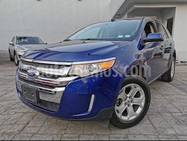 Ford Edge Limited usado (2013) color Azul Cobalto precio $215,000