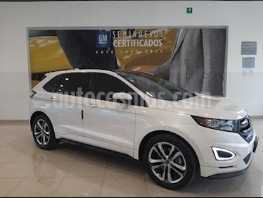 Ford Edge 5P SPORT V6 ECOBOOST 2.7T TA PIELGPS RA-20 usado (2017) color Blanco precio $450,900
