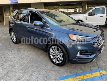 Ford Edge Titanium usado (2019) color Azul Marino precio $598,000
