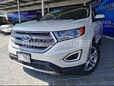 Ford Edge Titanium usado (2017) color Blanco Platinado precio $470,000