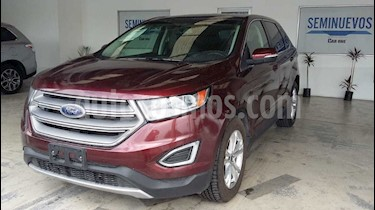 Ford Edge SEL PLUS usado (2015) color Rojo precio $300,000
