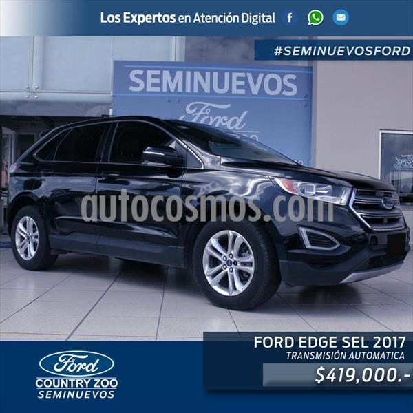 Ford Edge SEL Plus usado (2017) color Negro precio $419,000