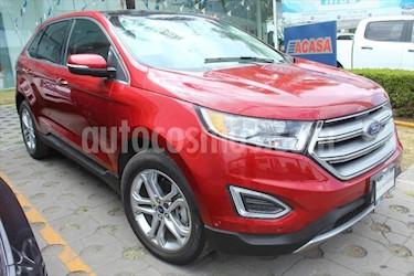 Ford Edge Titanium usado (2018) color Rojo precio $510,000