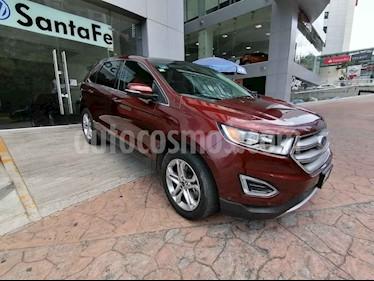 Ford Edge 5p Titanium V6/3.5 Aut usado (2015) color Marron precio $296,000