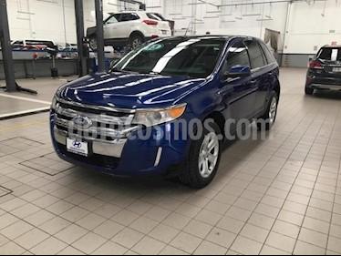 Foto Ford Edge 5p Limited V6/3.5 Aut usado (2013) color Azul precio $215,000