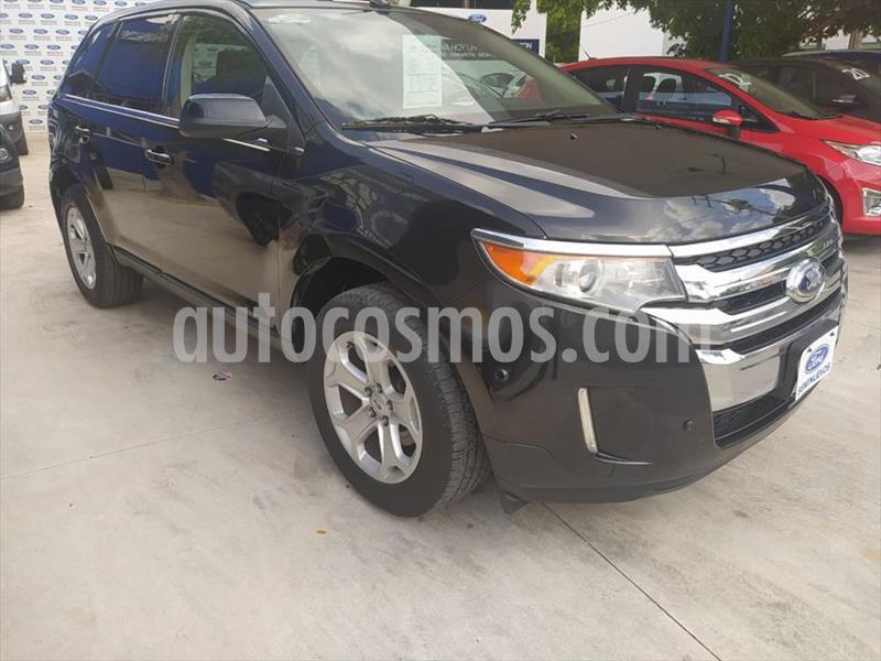 Ford Edge LIMITED  3.5L V6 PIEL SUNROOF usado (2014) color Negro precio $230,000