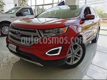 Ford Edge Titanium usado (2016) color Rojo Rubi precio $389,000