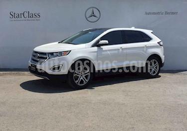 Ford Edge 5p Titanium V6/3.5 Aut usado (2017) color Blanco precio $449,900