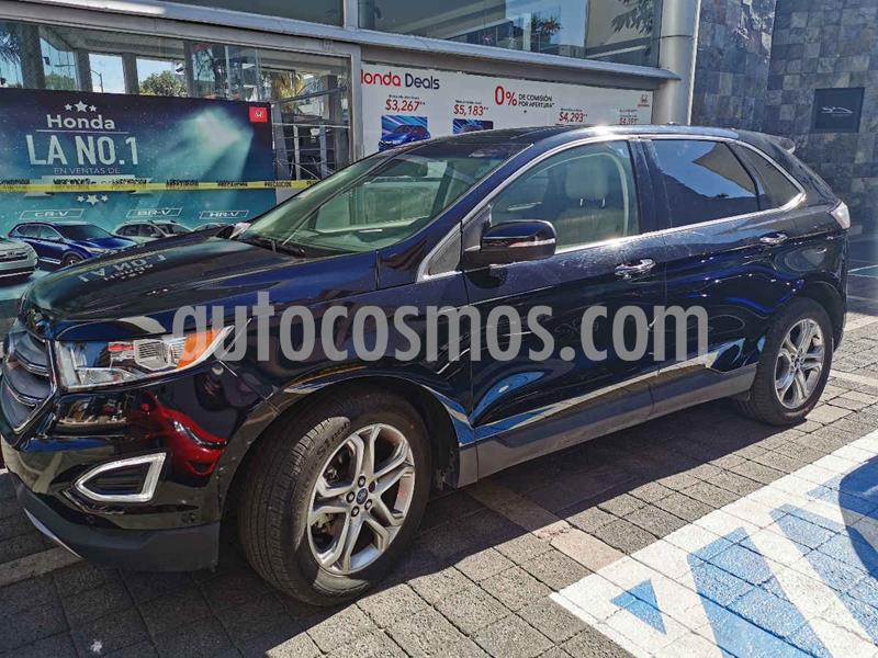 Ford Edge Titanium usado (2017) color Negro precio $399,100