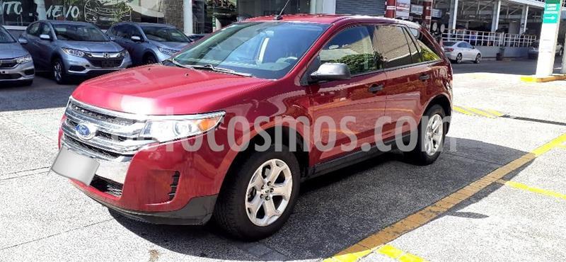 Ford Edge SE usado (2013) color Rojo precio $168,000