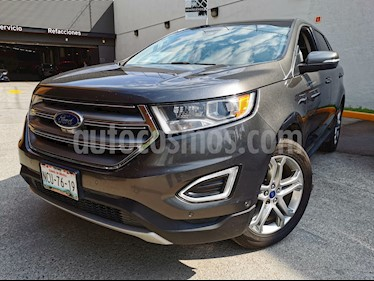 Ford Edge Titanium usado (2015) color Gris Mineral precio $340,000