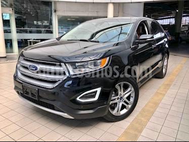 Ford Edge 5p Titanium V6/3.5 Aut usado (2017) color Negro precio $420,000