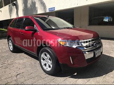 Ford Edge SEL usado (2013) color Rojo precio $229,000