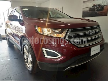 Foto venta Auto Seminuevo Ford Edge SEL PLUS (2017) color Rojo Rubi