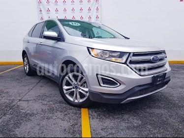 Foto venta Auto usado Ford Edge SEL PLUS (2016) color Plata precio $385,000