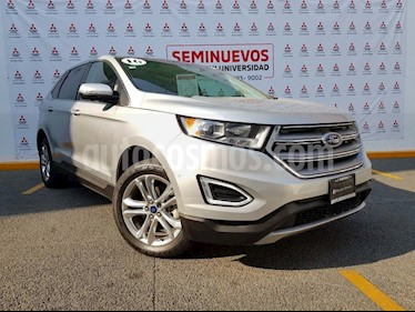 Foto venta Auto usado Ford Edge SEL PLUS (2016) color Plata precio $370,000