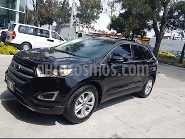 Ford Edge SEL Plus usado (2016) color Negro precio $349,900