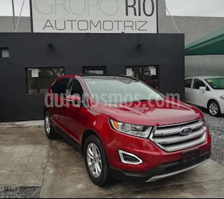 Foto venta Auto usado Ford Edge SEL (2016) color Rojo precio $367,000