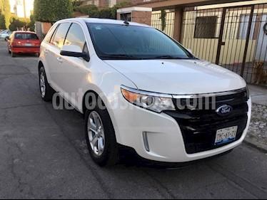 Ford Edge SEL usado (2014) color Blanco Platinado precio $250,000