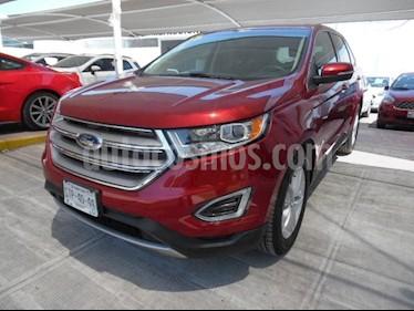 Foto venta Auto usado Ford Edge SEL (2015) color Rojo precio $325,000