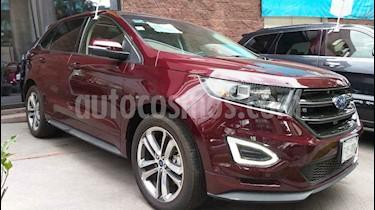 Foto venta Auto usado Ford Edge Sport (2017) color Vino Tinto precio $499,000