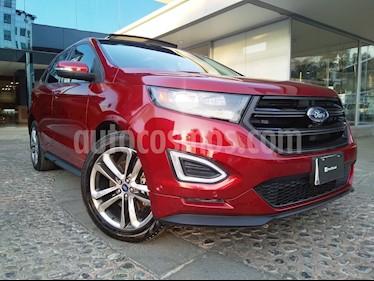 Foto venta Auto usado Ford Edge Sport (2016) color Rojo Rubi precio $430,000